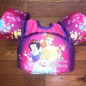 Disney princess water wings/ puddle jumper